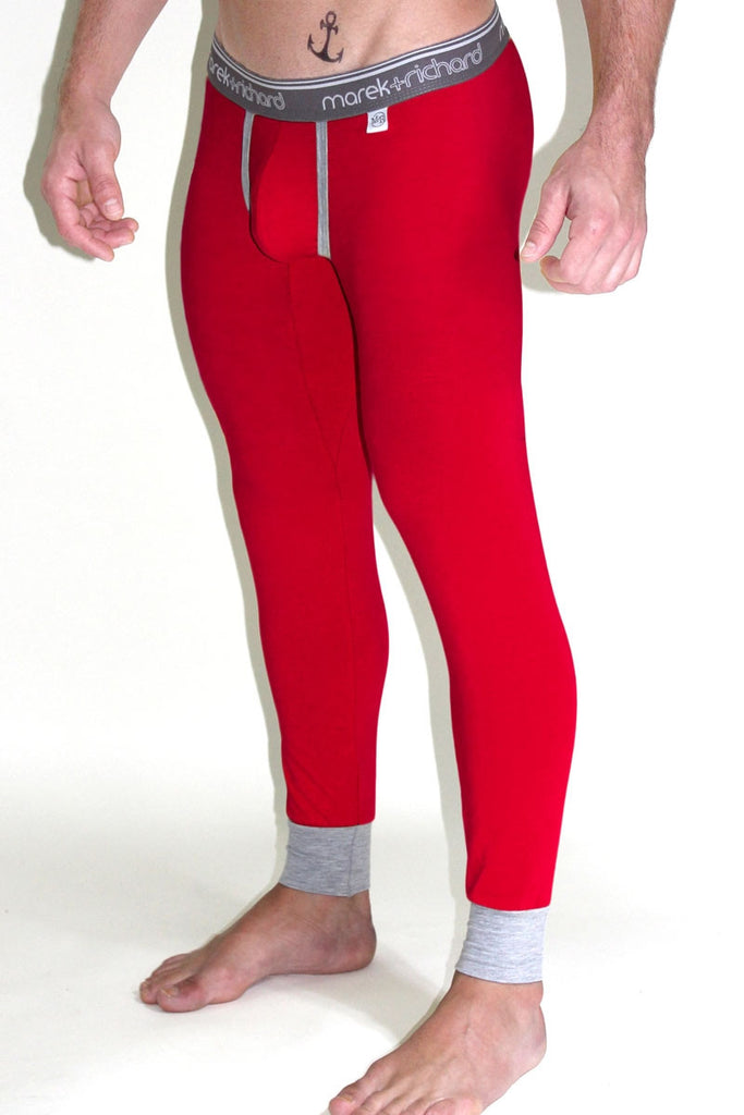 Core Long Johns- Red
