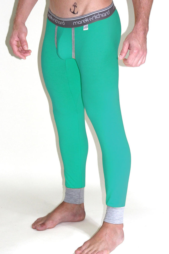 Core Long Johns- Turquoise