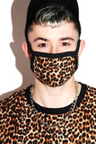 Cheetah Please Face Mask- Black