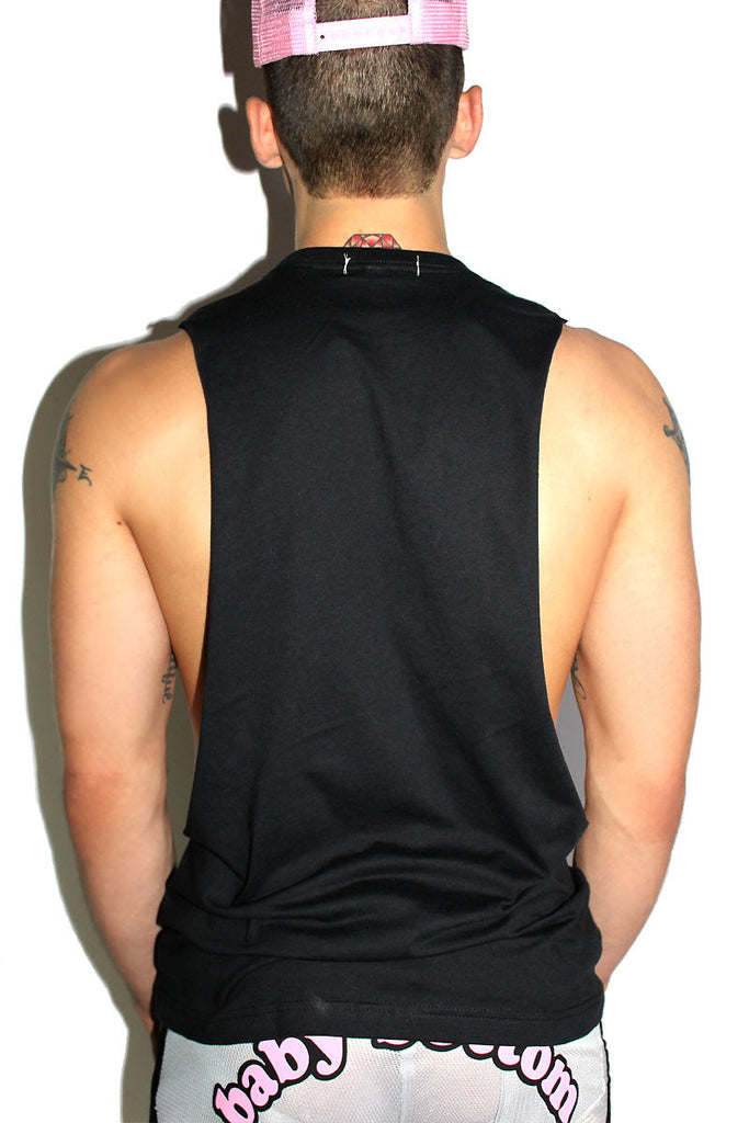 Cunt Touch This Low Arm Shredder Tank- Black