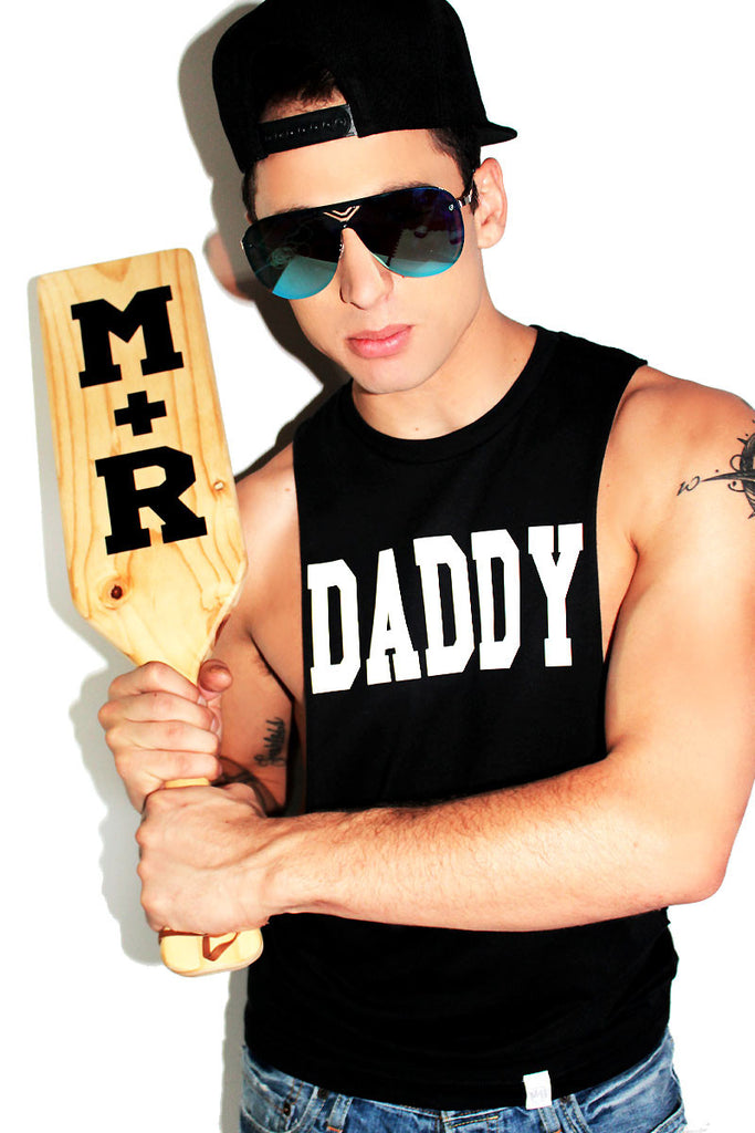 Daddy Low Arm Tank- Black