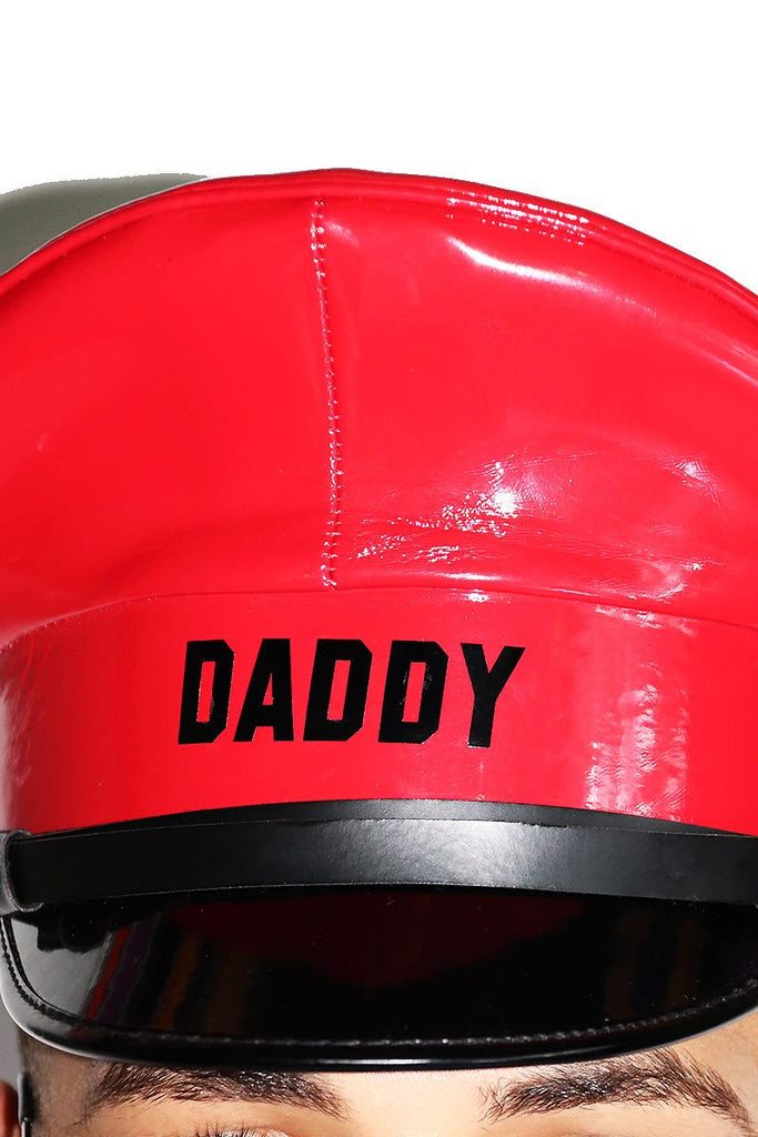 Daddy Captain Hat-Red