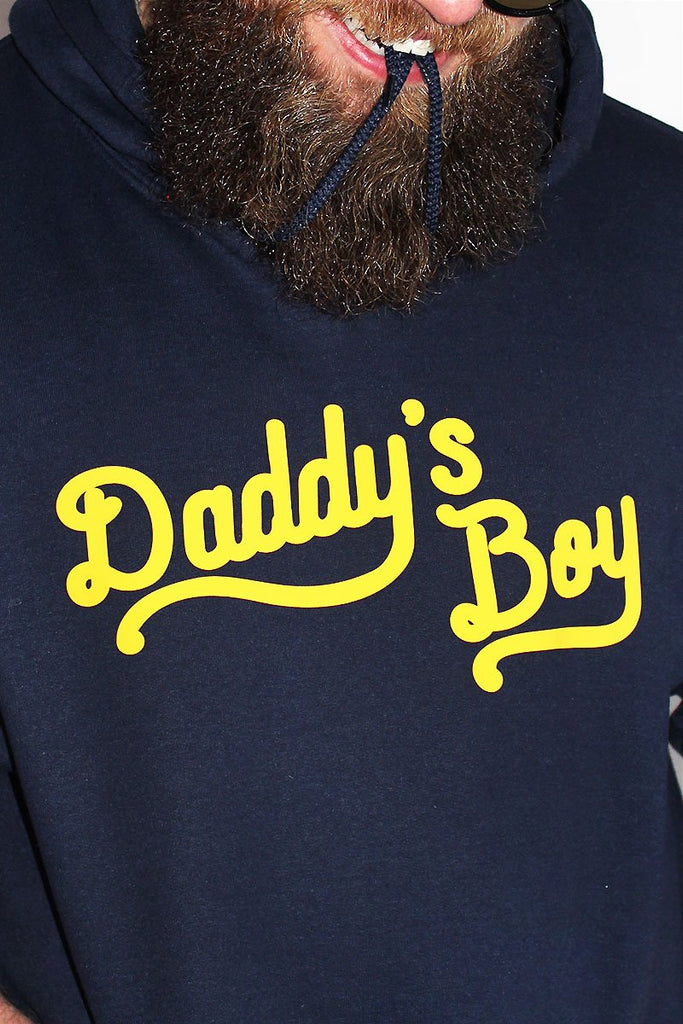 PLUS: Daddy's Boy Long Sleeve Hoodie