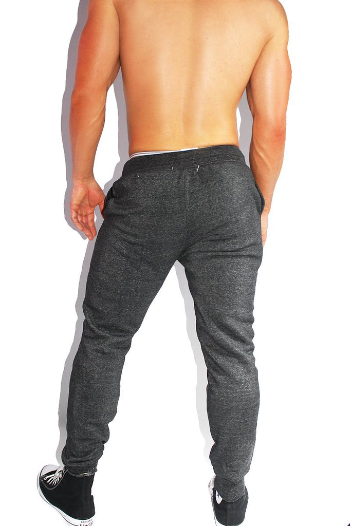 Daddy's Boy Skinny Joggers- Dark Charcoal