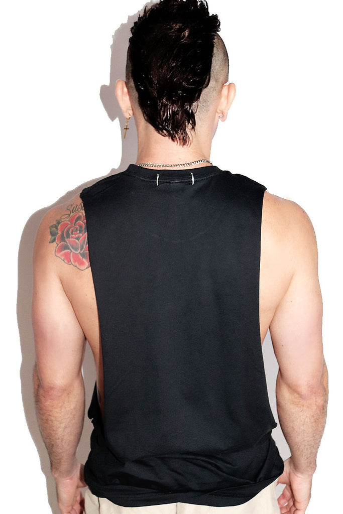 Dick Pix Low Arm Shredder Tank- Black