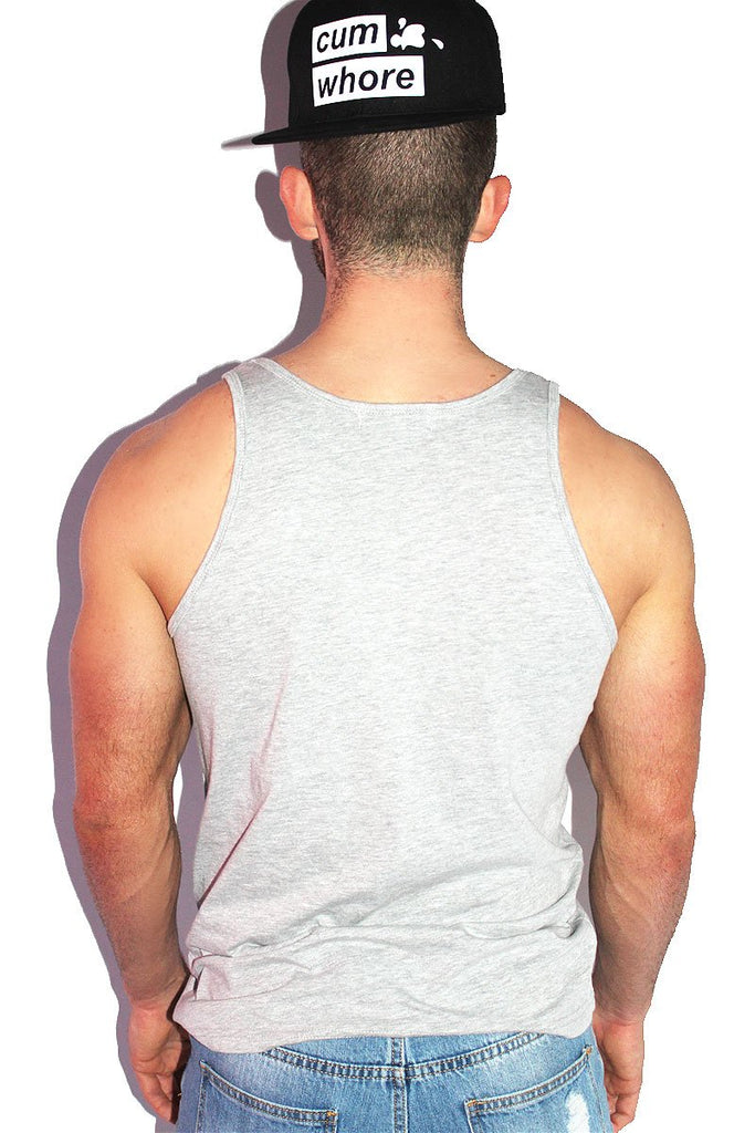 Dream Boy Racerback Tank- Grey