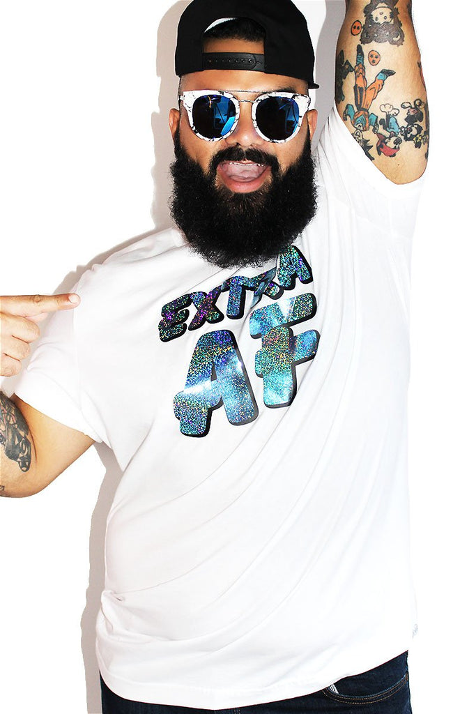 PLUS: Extra AF Tee- White