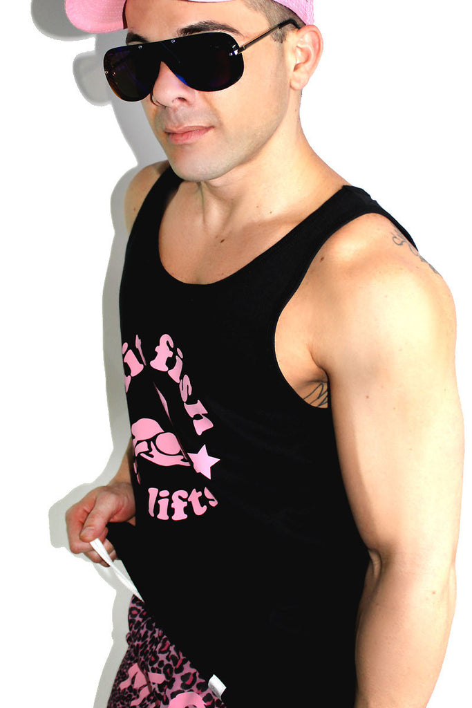 Fit Fish Racerback Tank- Black