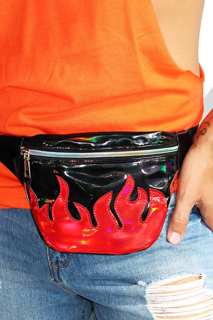 Flamin' Fanny Pack-Black