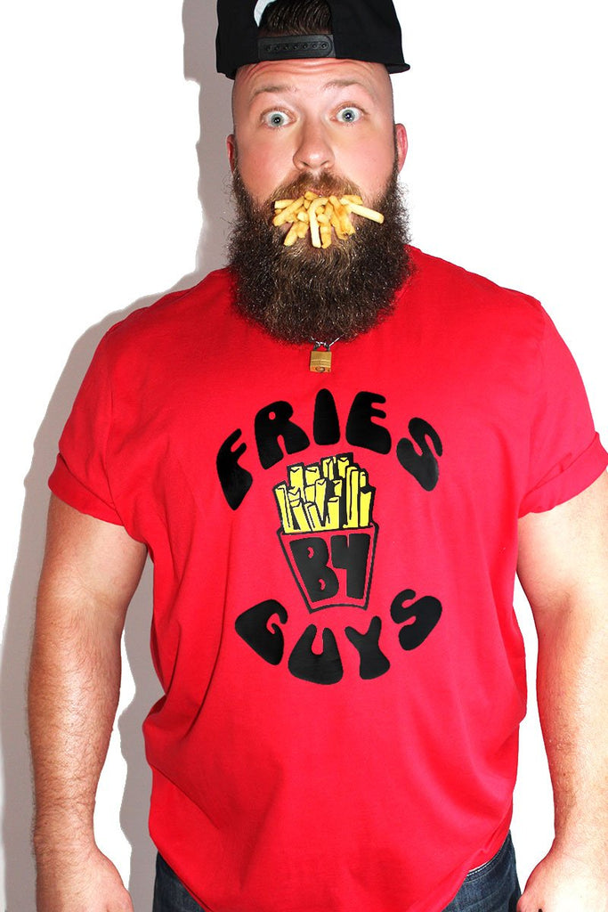 PLUS: Fries B4 Guys Tee- Red