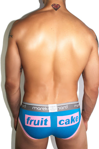 Fruit Cake Brief- Blue