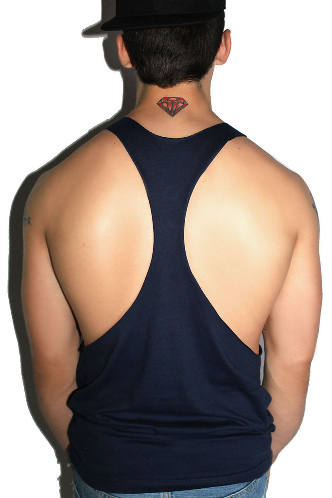 Fuckable String Tank-Navy