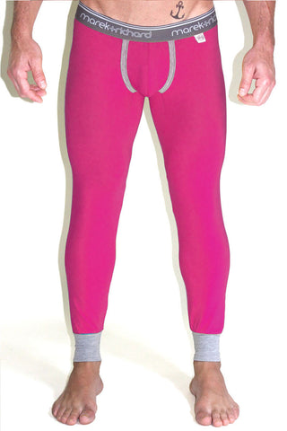 Core Long Johns-Fuschia