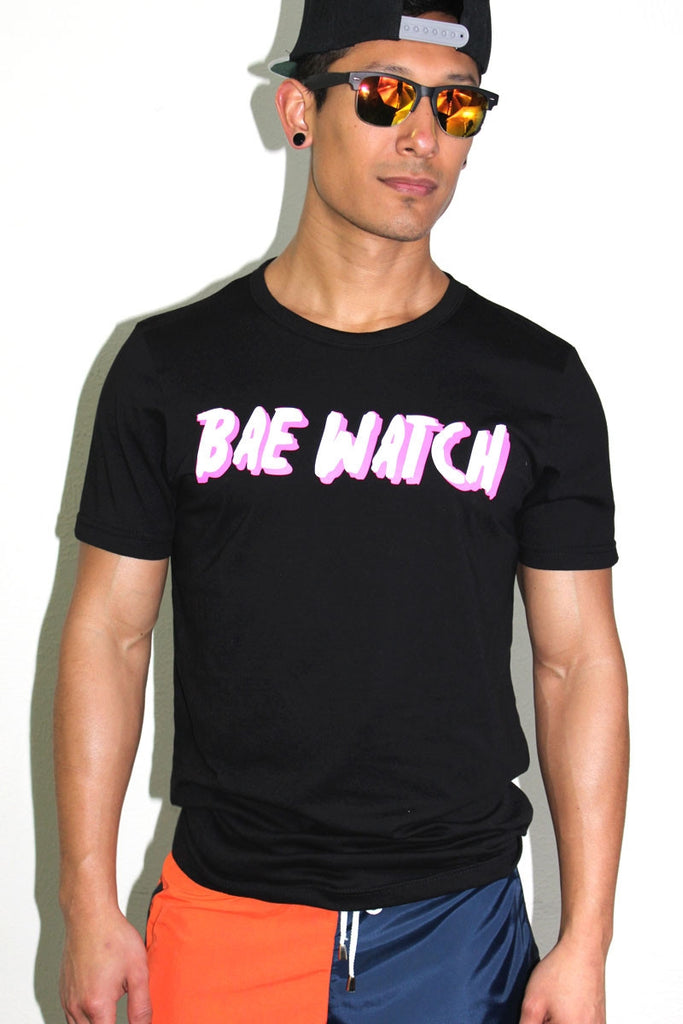 BAE WATCH Tee- Black