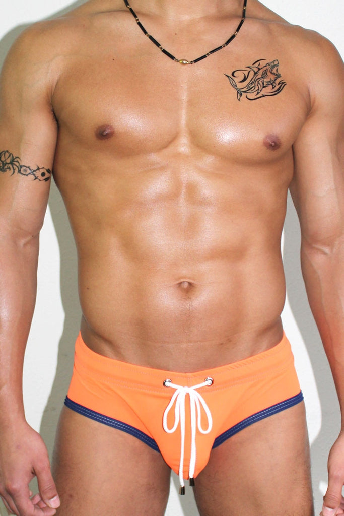 Get Wet Bikini Swimsuit-Orange