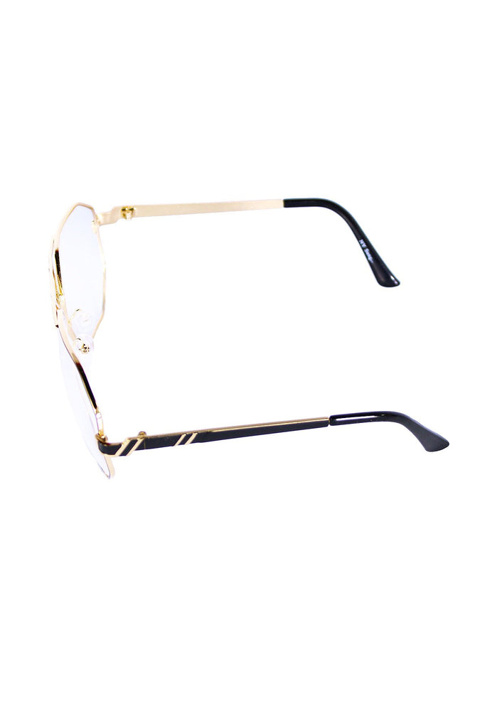 Daddy Aviator Glasses-Clear