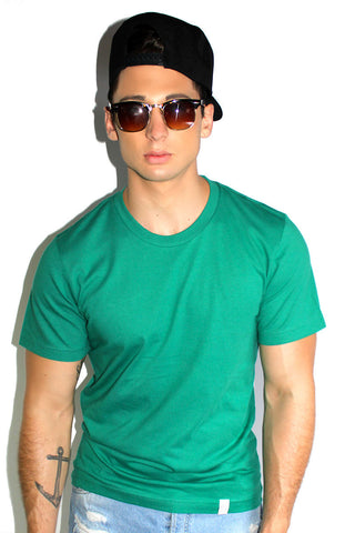 Core Crewneck Tee-Green