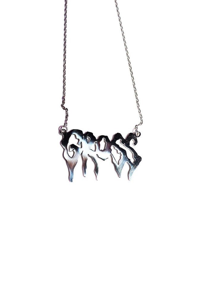 Gross Necklace- Silver