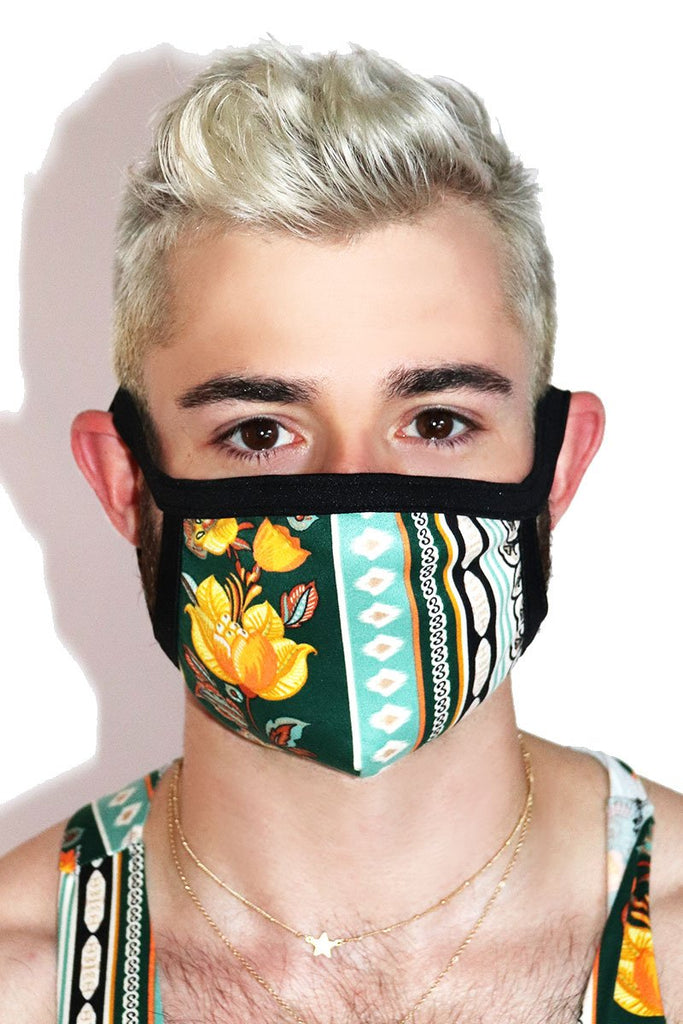 Havana Face Mask- Black