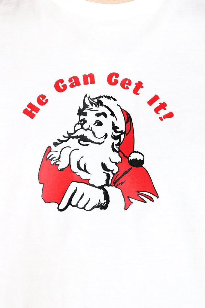 He Can Get It Low Arm Tank- White