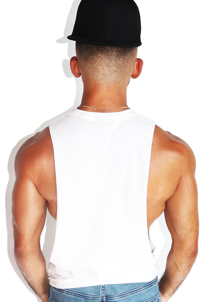 Hole Destroyer Low Arm Shredder Tank-White