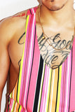 Sugar Rush String Tank-Pink