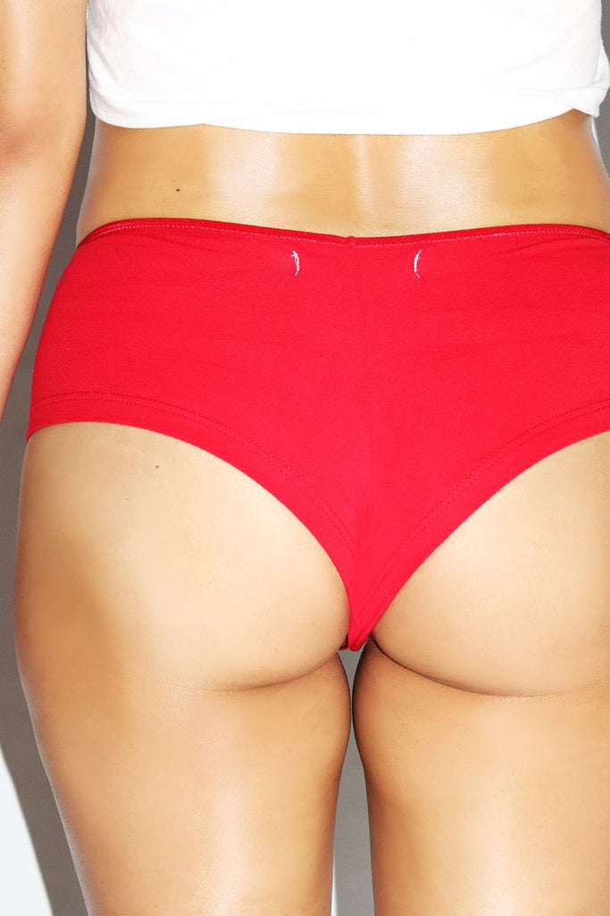 Lick It Boy Short- Red