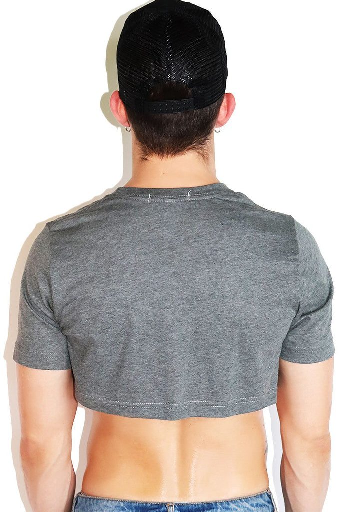 Core Extreme Crop Tee-Light Charcoal