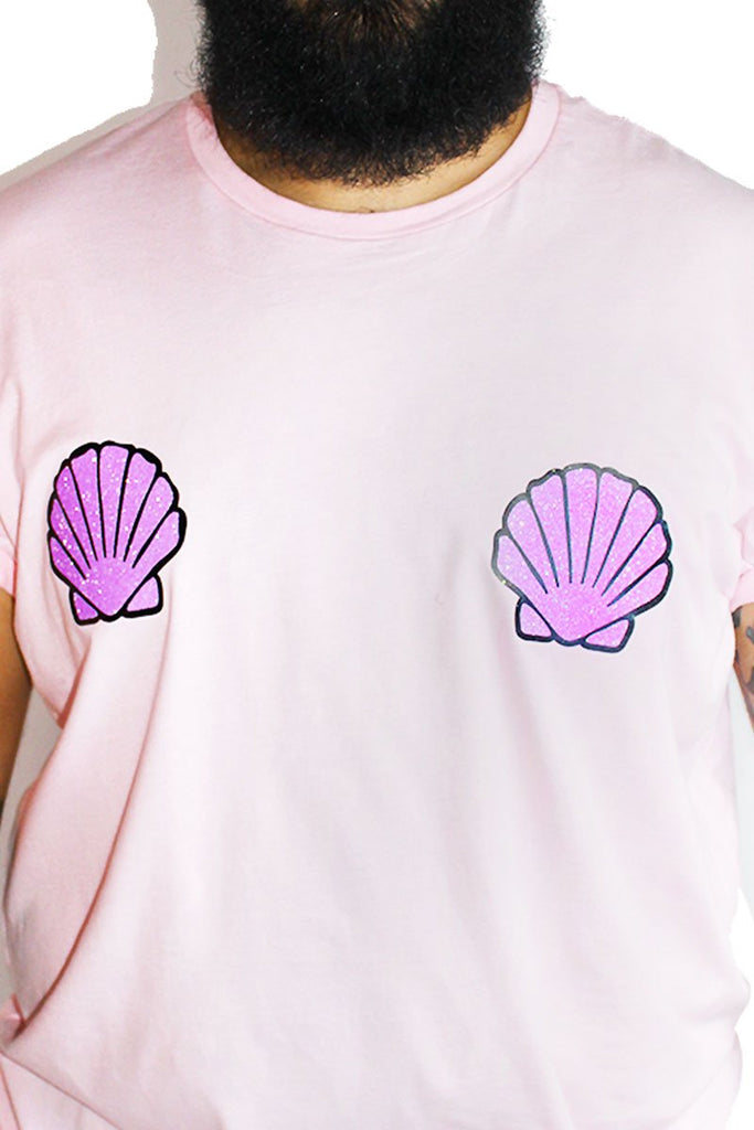 PLUS: Lil Merman Tee- Pink