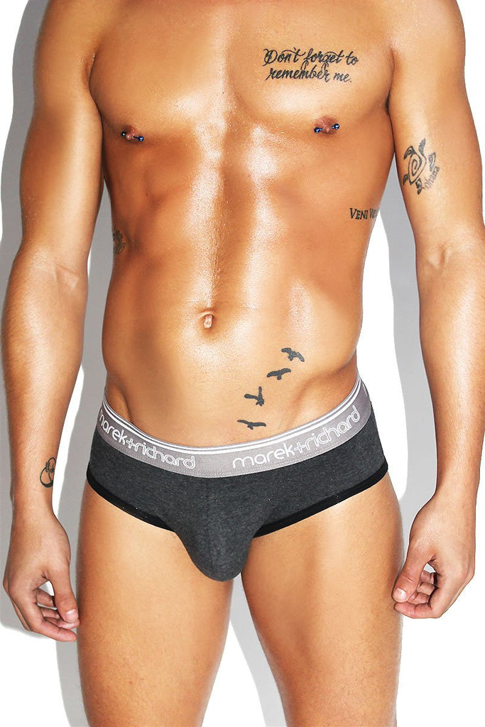 Lock Brief- Dark Charcoal