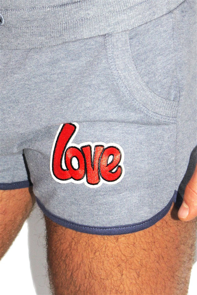 Love it Running Shorts-Navy