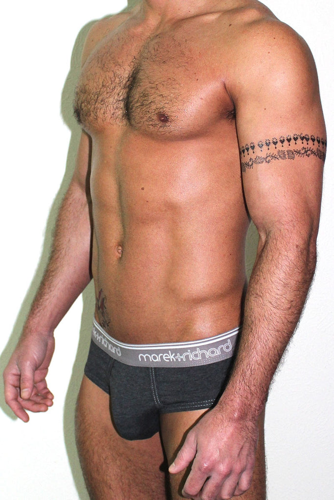 BUSSY Brief- Charcoal