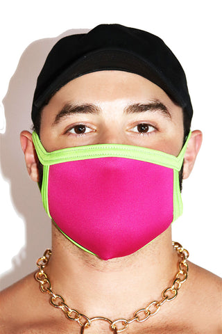 Core Face Mask-Fuchsia