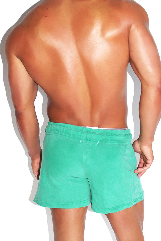 Merman 69 Vintage Lounge Short-Green
