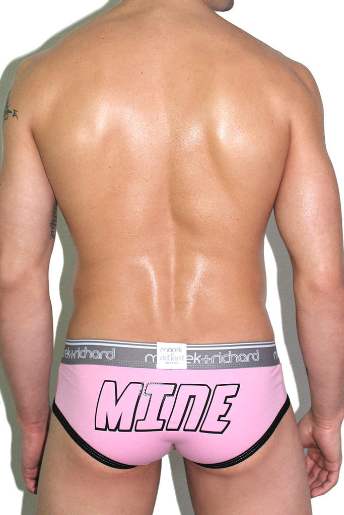 Mine Brief-Pink