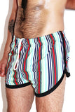 Laguna Beach Running Shorts-Blue