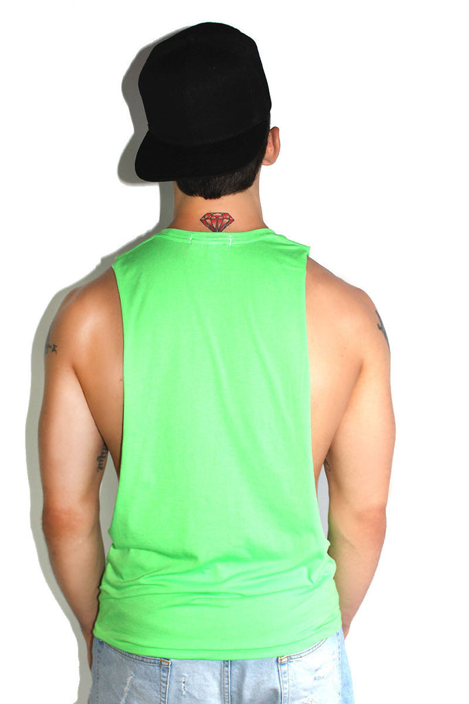 Core Shredder Tank-Neon Green