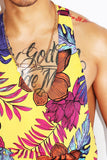 Tropical String Tank-Yellow