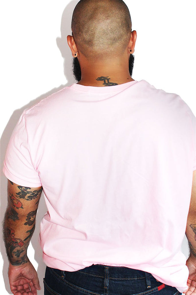 PLUS: No Fats No Fems Tee- Pink Sparkle
