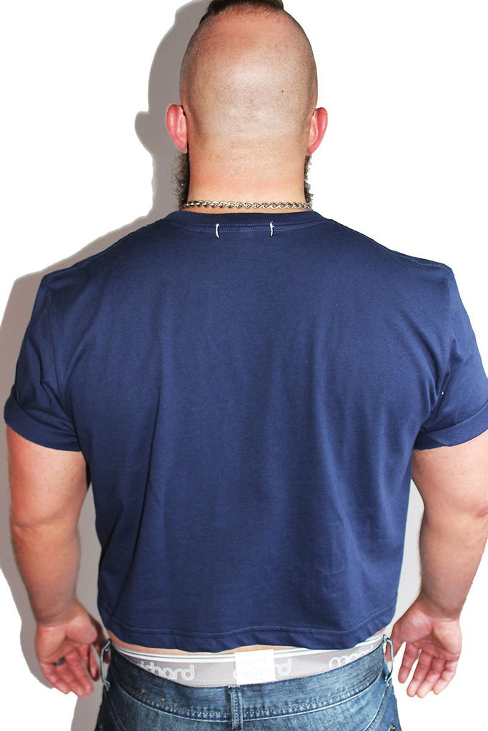 PLUS: Core Crop Tee-Navy