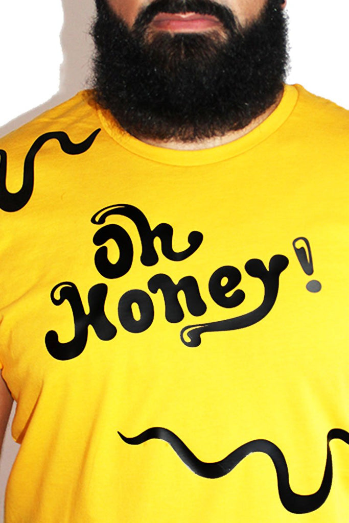 PLUS: Oh Honey Tee- Yellow