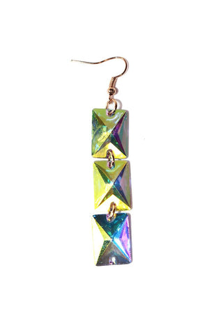Tri Pyramid Necklace-Gold