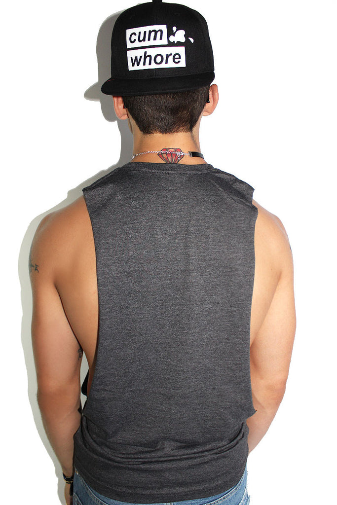 Original Shredder Tank- Dark Charcoal