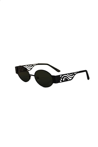 California Waves Sunglasses-Black