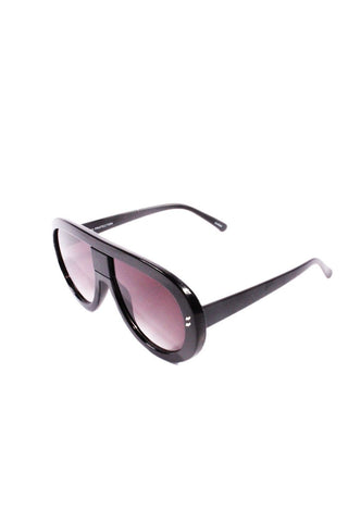 Futuria Shield Sunglasses-Black
