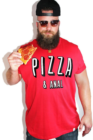 PLUS: Pizza and Anal Tee-Red