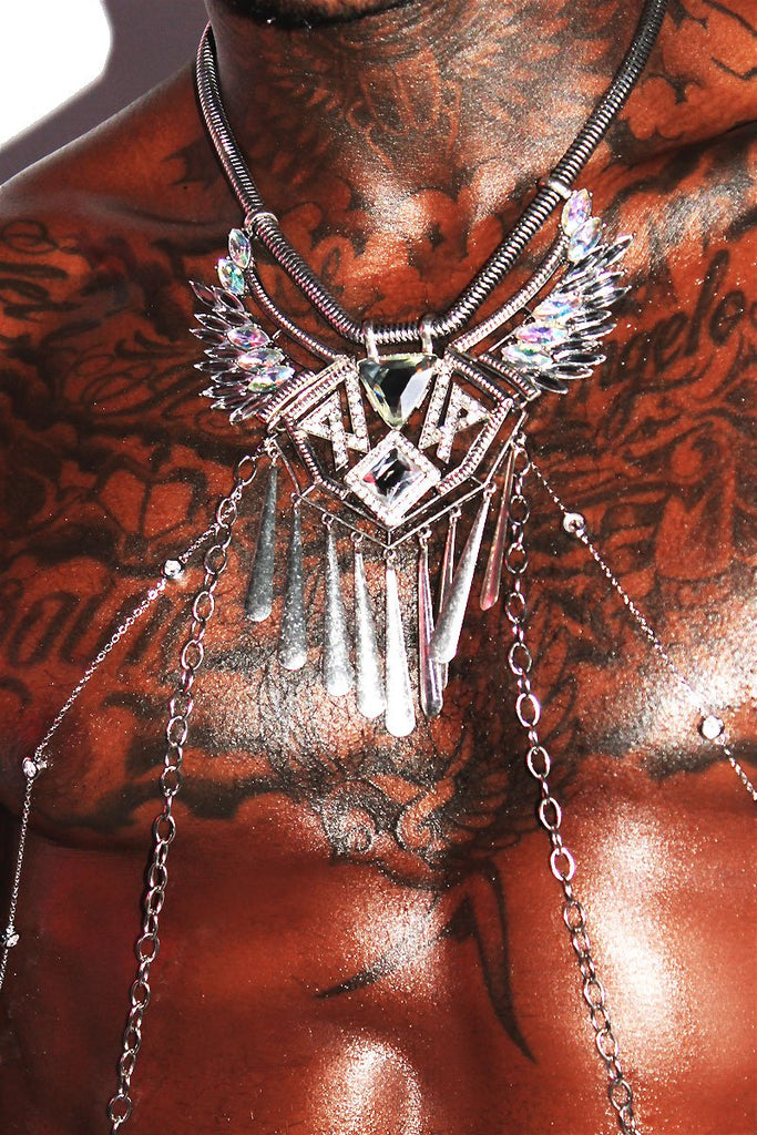 Platinum Wings Harness - Silver