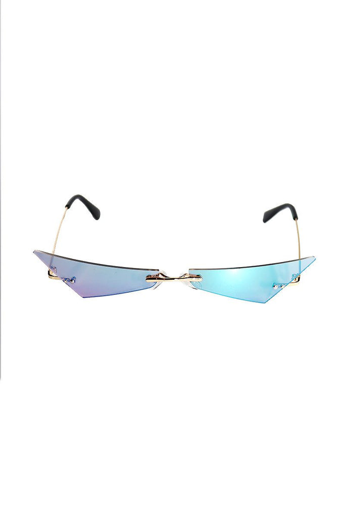 Precision Mini Shade Sunglasses-Silver