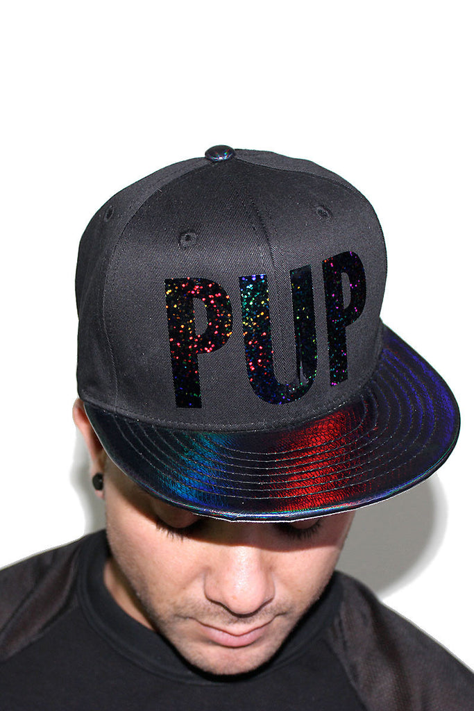 PUP- Snap Back Hat-Navy