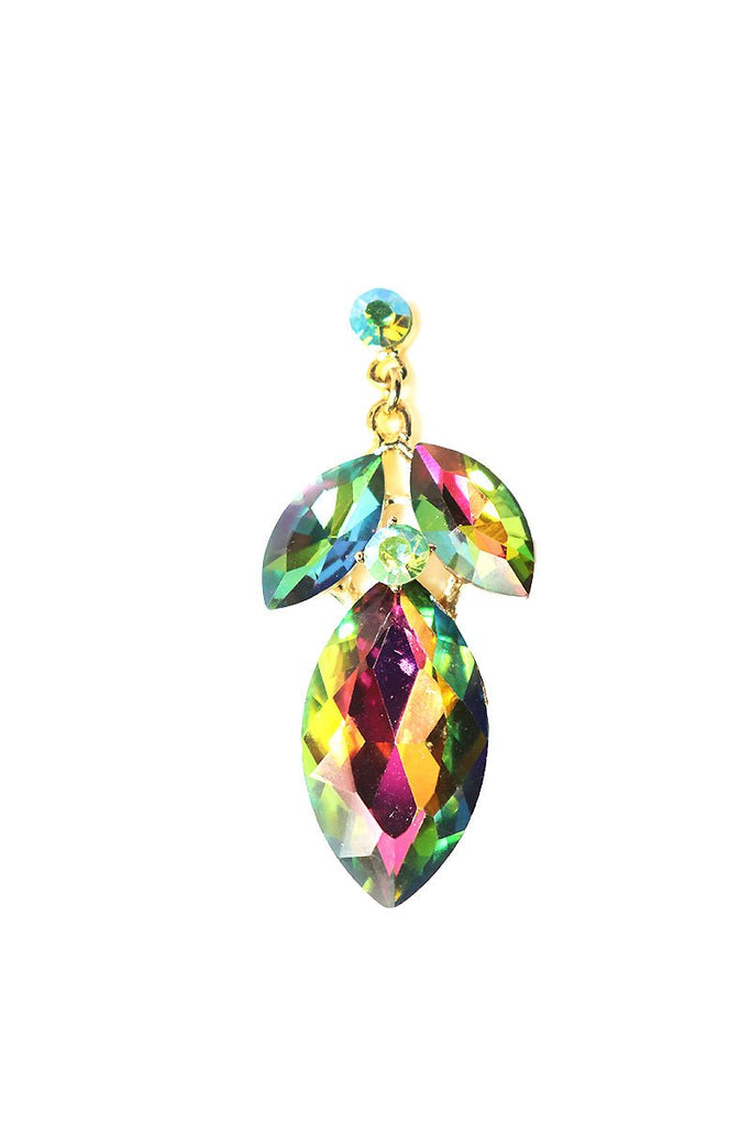 Emerald Fantasy Single Earring-Multi